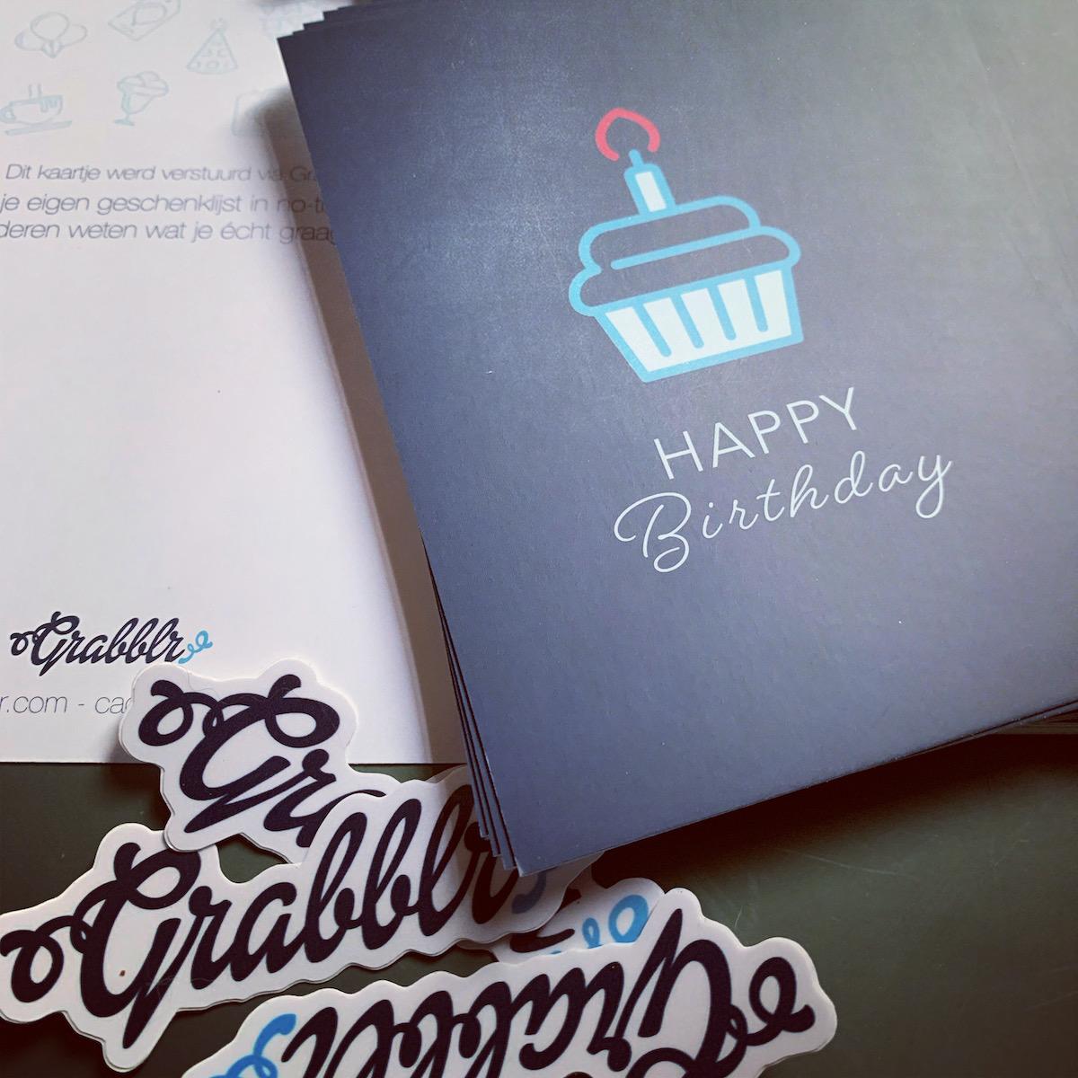 Gratis verjaardagskaartjes met Grabblr