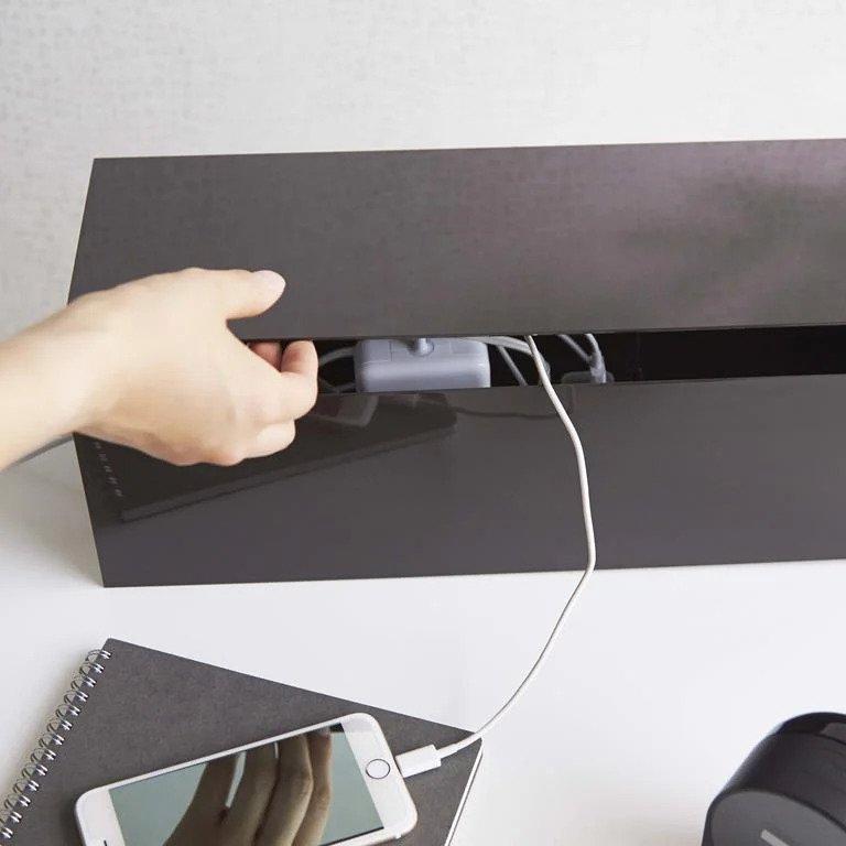 Home Office kabel organizer