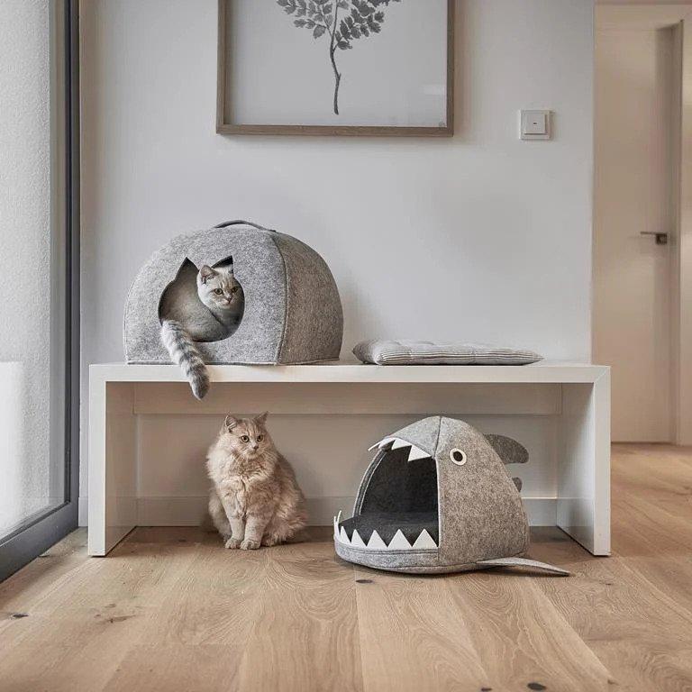 Huisdier cadeau - Zeller Shark Kattenmand